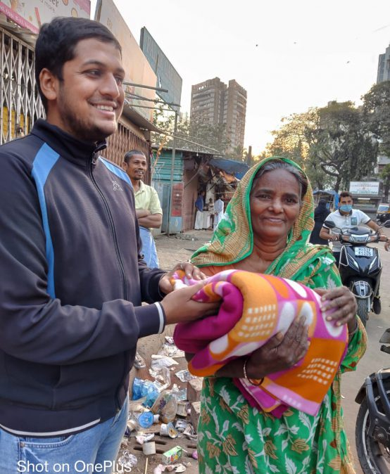 Hope Anonymous – a Blanket Donation Drive by Rotaract Club MVM