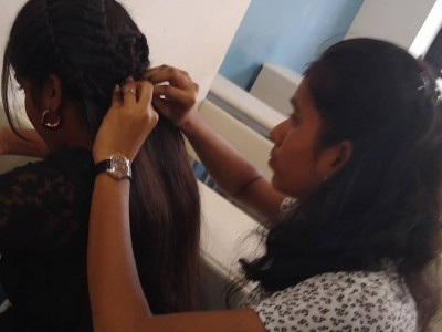 Hair style competition- Clairvoyance'19