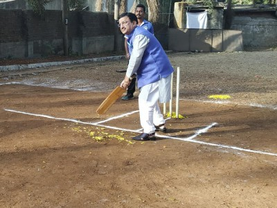 Dr Goapl Kalkoti, Principal at Inaugural Ceremony of Clairvoyance'19 Sports Events