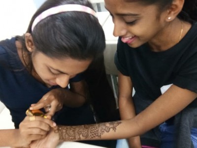 Mehndi competition- Clairvoyance'19